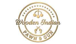 Wooden Indian Pawn & Gun